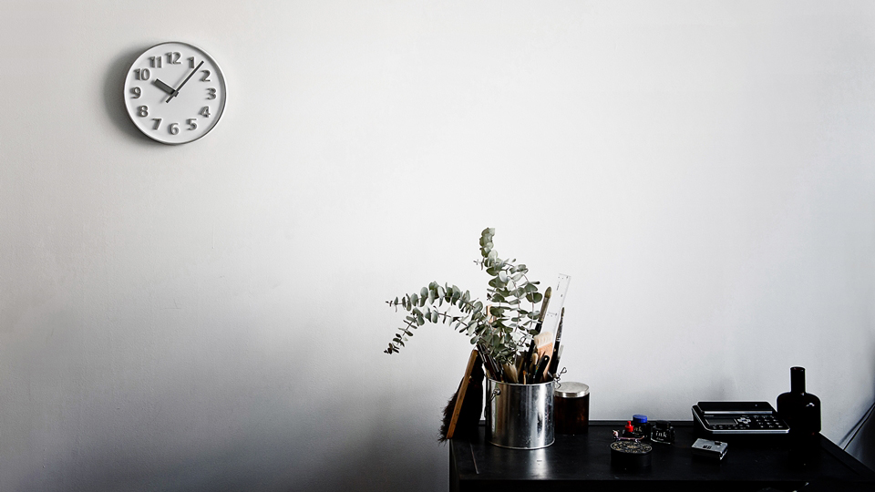 lemnos レムノス founder clock 小池和也 kazuya koike doogdesign