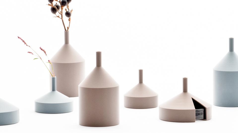 Unfinished vase designed by Kazuya Koike at 藤谷商店
