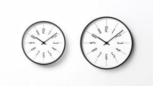 時計台の時計 L