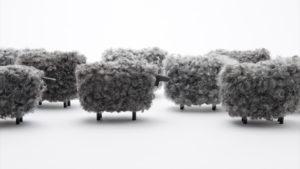 """Gotland sheep object """"Marte"""""""